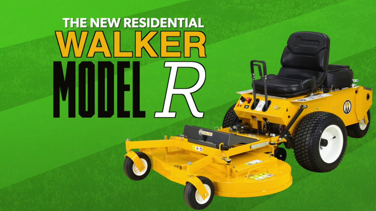 the new walker model r